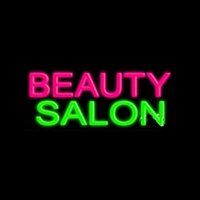 Schönheitssalon Neonzeichen Handgemachte echte Glas-Shop-Shop-Haarschnitt-Anzeigendekoration-Anzeige Neonzeichen 17x8