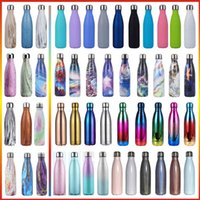 500ml Creative Cola Outdoor Sports Bottle Thermose Coke Cup Double-wall Vacuum Insulated Stainless Steel milk Coffee Thermos