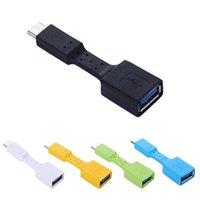 USB-C 3.1 Typ C-C-M-Male an USB 3.0-Mobiltelefonkabel Adapter OTG-Daten Sync-Ladegerät