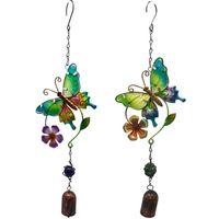 25 # artesanal pássaro vento carrilhão para parede janela porta sino pendurado ornamentos vintage casa campanula decoração artesanato jardim decorações