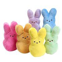 Paskalya Bunny Peeps Peluş Oyuncaklar Seksi Sevimli Tavşan Simülasyon Çocuklar Için Dolması Hayvan Bebek Çocuk Yumuşak Yastık Doğum Günü Hediyeleri