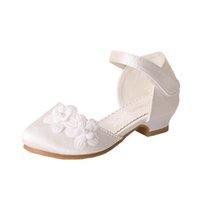 Girls Sandals Kids Shoes Summer Baby Girl Children Children's Princess Dress High-Heeled Flower B6550