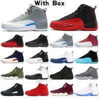 Jordan 12 AJ 12 jumpman 12 Gym Red Men Shoes de baloncesto 14 14s Laser Orange UNC 12S University Gold Off Dark Concord FIBA FUBRA Game 9S Zapatillas de deporte criado