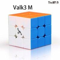 Qiyi Valk3m Magnético 3x3x3 Cubo Mágico Valk3 M 3x3 Cubo de Velocidade do Puzzle O Valk 3x3x3 Cubo Mago de Competição WCA
