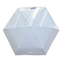Umbrellas Mini Travel UV Umbrella Portable Lightweight Compact Pocket With Bow Pattern Parasol