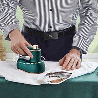 El konfeksiyon vapur 2 1 mini giysi / vapur makinesi taşınabilir ıslak kuru buharlı demir ütü / makine ev seyahat AB / ABD için