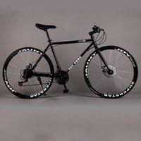 Vélo Fixe Route Vélo Vitesse Vélo Vitesse Double Discours pour hommes et femmes Étudiants 26 pouces Vélos de montagne pour adultes