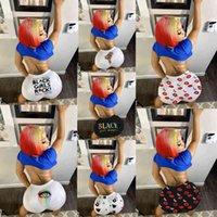 2021 Yeni Düz Bayan Moda Baskı Tayt Ev giysileri Şort Sıkı Ince Şort Seksi Orta Bel Taze Tatlı Çok Renkli Tayt D1208