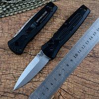 자극 나이프 벤치 메이드 3551 자동 자동 EDC 전술 생존 포켓 나이프 154cm 블레이드 T6061 알루미늄 핸들