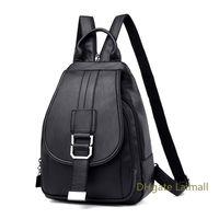 maymall Women Leather Backpacks Vintage Female Shoulder Bag Sac A Travel Ladies Bagpack Mochilas School Bags for Girls
