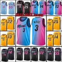 Jimmy Bam 13 22 Butler Adebayo Kyle 7 Lowry Basketball Jersey Dwyane 3 Wade Tyler 55 Duncan 14 Herro Kendrick Robinson 25 Nunn 2021