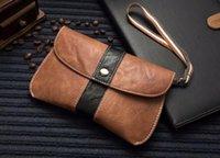 Handy-Taschen Handgurt Ledertasche für Huawei Nova 8 Pro 5G Mate XS X2, Ehre 10x Lite P10 Plus Y9s Mate9, Yotaphone 3, Yotaphone 2