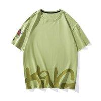Men's T-Shirts 2021 Summer Arrival Korean Loose Slim Round Neck Couple Short-sleeved Casual Wild Plus Size Sports Men T-shirt