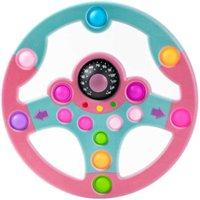 Giocattolo per bambini Puzzle Copilota Volante Push Push Bubble Decompressione Giocattoli Toys Tablet per bambini Giochi di apprendimento Simulazione Gioco di guida G61eF51