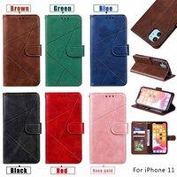 Pour iPhone 13 12 11 Pro Max XR XS 7 8 PLUS Cas de portefeuille Diamant Coffre-Téléphone Flip TPU Matte Couverture S20 Fe