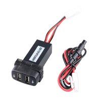 12V 2.1A Dual USB Port POWER POWER POWER Chargeur de voiture GPS pour Mitsubishi Free Ship