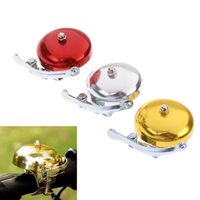 Bike Horns Metal Bell Ring Loud Sound One Touch Classic Handlebar Cycling Bicycle Horn Alarm Accessory Retro Cycle Push