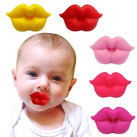Carriers, Slings & Backpacks Food Grade Silicone Funny Baby Pacifiers Lip Mouth Shape Dummy Nipples Teether Toddler Orthodontic Soother Paci