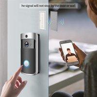 Doorbells Smart IP Video Intercom WI-FI Door Phone Bell WIFI Doorbell Camera For Apartments IR Alarm Wireless Security