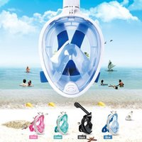 Diving Masks 4 Colors Scuba Mask Full Face Snorkeling Underwater Anti Fog For Swimming Spearfishing Dive