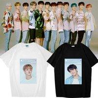 Unisex KPOP Hazine İlk Adım: Bölüm İki Tek Makinesi Fan Yaz T-Shirt Tişört Tee Mal Koleksiyonu Pamuk Kadınlar