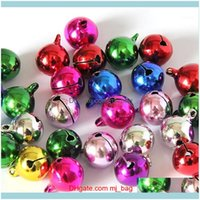 Decorations Festive Supplies Home & Gardenjingle Metal Beads Bells Festival Party Christmas Tree Hanging Decoration For Diy Handmake Crafts