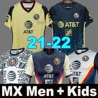 2021 2022 Camisetas de fútbol del Club América F.VINAS HENRY Liga MX 20 21 RODRIGUEZ América tercer Jersey Portero GIOVANI fútbol para hombre + niño soccer jersey
