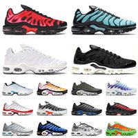 nike air max airmax plus tn 2021 Tn Plus Hommes Femmes Chaussures De Course US 12 Cuir Triple Noir TOUT Blanc Bleu Hex Bleached Aqua Worldwide Outdoor Trainers Sneakers 36-46
