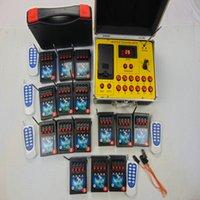 60 codes sans fil State Party Fournitures Smart Remote Pyrotechnic Fire Musique spéciale Effets spéciaux Double commutateur Cadeau de Noël Cadeau Electric Fireworks Système de tir