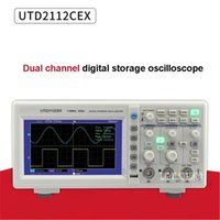Osciloscopio profesional 2 canales de almacenamiento portátil digital 100-240V 110MHz 1gs / s osciloscopios
