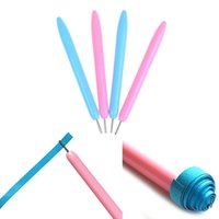 2pcs set Paper Craft Tool Quilling DIY Assorted Color Pen Origami Scrapbooking Slotted Tools Other Arts And Crafts