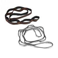 1.1m 7 loops yoga cinghia cintura corda cinturino catena a catena estensione elasticizzarsi per bande di resistenza aerea amaca