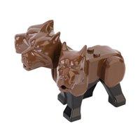 Поттер пушистый Cerberus три головы собака минифиг мини действие рисунок строительные блоки игрушки