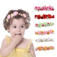 Children' s Headband Baby Girls Crown Flower Wreath Hair...