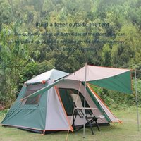 Tents And Shelters 2021 Outdoor Camping Automatic Tent Anti-storm Sunscreen Double 3-4 Person Speed Open Thick Beach