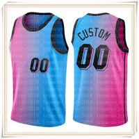 Top Custom Jersey Udonis 40 Haslem Alonzo 33 Mourning Kelly 9 Olynyk Jerseys Cualquier nombre Baloncesto S-XXL 2021