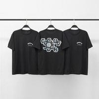 21s New Black Friday Jackboys Album Periférico High Street Masculina e Mulheres Manga Curta Moda Casal T-shirt Chha