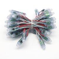 2021 500PCS WS2811 IC LED Module de pixel Light 12mm Etanche Point Lumière DC5V RGB String NOËL Lumière pour les lettres Sign