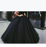 Sexy black Ball Gown Prom Dresses with Sweetheart Sleeveless Lace Up Back Special Occasion Evening Party Dresses Custom MAde