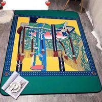 Horse Style Luxury designer Carpet for Living Room Retro Nordic Kidsroom Rugs Non Slip Bedroom Floor Mat Home Decor