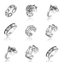 Wedding Rings Unusual Aesthetic Couple For Women Minimal Simple Punk Gothic Boho Finger Vintage Steampunk Jewelry Accessories