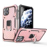 Per iPhone 12 Pro Max 11 x XS XR 7 8 PLUS SE 2020 NUOVO Ghiaccante anello cassa del telefono Magnete Auto Mount Shell
