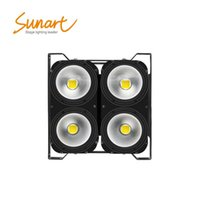 Effects 4*100W Led Stage Effect Blinder Light For Dj Disco Dmx Control Work With Moving Head Somke Machine Beam Spot Wash