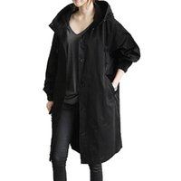 Women's Jackets In Stock Womens Winter Loose Hooded Wild Elegant Windbreaker Comfortable Coat Outwear Bomber Jacket#8