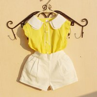 Shirts 2021 Summer Girls Blouse For Kids Solid School Girl Blouses Tank Tops Baby Toddler Teen Children Clothes 6 8 10 12 Year
