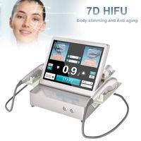 하이테크 7D HIFU 슬리밍 기계 집중 초음파 지방 제거 3D Lipohifu 바디 쉐이핑 뷰티 장비