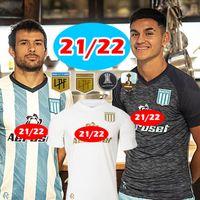 Racing Club Futebol Jerseys 2021 2022 Camisetas Tomás Chanalay Feroli Churry Rojas Barbona Cvitanich Aníbal Moreno 21 22 Longe Lorenzo Melgarejo Football Shirt