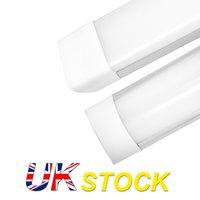 UK Stock 4 Feet Shop luminaire 54W LED LED Lumières de tube 5400LM 6000K 4000K 3000K 3 Les températures de couleur allume 120 cm de placard de garage éclairage pour le sous-sol de la maison
