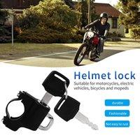 Cerraduras de bicicleta Motocicleta Bicicleta Casco Cable Cable Anti-Robo Seguridad Durable Metal Motor Eléctrico Accesorios