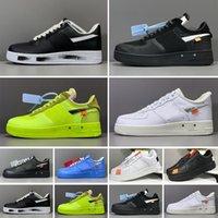 Force 1 AF1 Top 1 Erkek Kadın Ayakkabı MCA Mavi Kırmızı Gümüş Metalik Volt 2.0 Düşük Siyah Yeşil Gner Tasarımcı Sneakers 36-45 Z